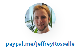 PayPal donate Jeffrey Rosselle